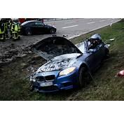 BMW M5 300 Km/h / 186 Mph Autobahn Crash  Autoevolution