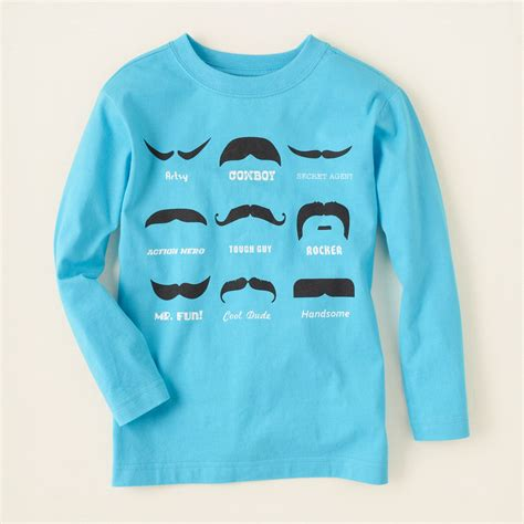 Graphic Tees Moustache Graphic 187 My Shops