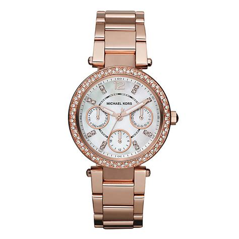 Michael Kors Ohrstecker Rosegold by Michael Kors Gold Plated Bracelet