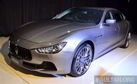 Maserati Ghibli Launched In Malaysia From Rm538 800 Image