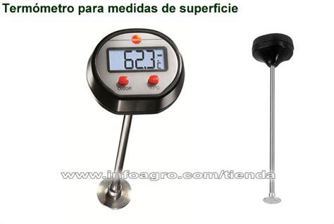 termometro de superficie economico  alimentos testo ts   tienda