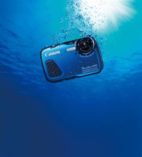 Kamera Canon Water canon powershot d30 waterpfroof 12 1mp biru