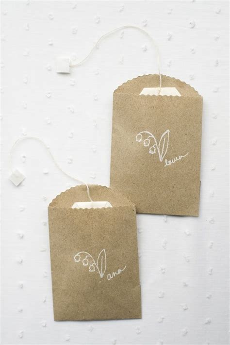 How Tea Bag Is Made by 25 Best Ideas About Tea Bag Favors On Tea