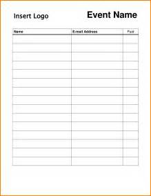 Free Template For Sign Up Sheet by Pin Event Sign Up Sheet Template Free On