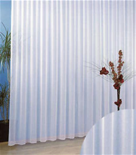 gardinen faltenband gardinen stores feinsabl 233 wei 223 m faltenband 1 3 typ96 ebay