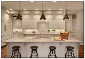 wonderful Single Pendant Lights Kitchen Island #2: single-pendant-lighting-over-kitchen-island.jpg