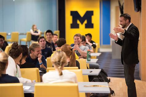 Ross Mba Orientation by Sanger Leadership Center Of Michigan