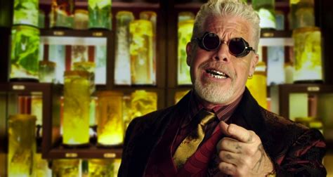 ron perlman in fantastic beasts ron perlman becomes a goblin in harry potter spinoff