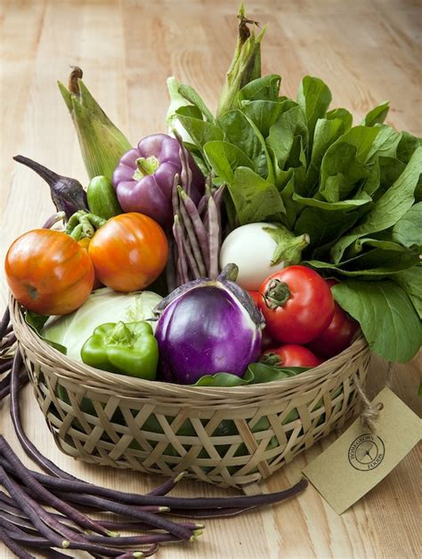 vegetarian baskets organic vegetable baskets from homegrown foods sassy hong kong