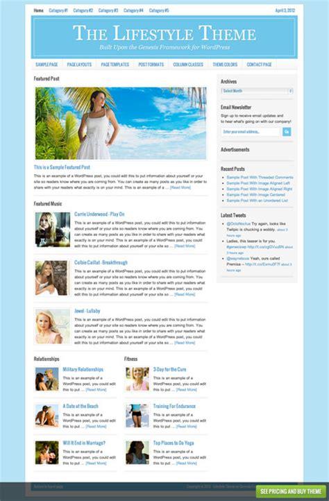 theme wordpress lifestyle lifestyle theme magazine wordpress theme