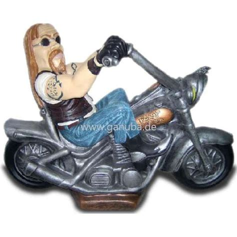 Motorrad Deko by Deko Figur Rocker Auf Motorrad