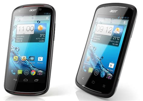 Handphone Acer Liquid C1 acer liquid c1 formally launched alongside two other