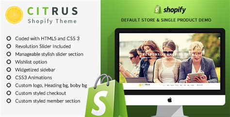 shopify themes single product citrus one page parallax shopify theme by buddhathemes
