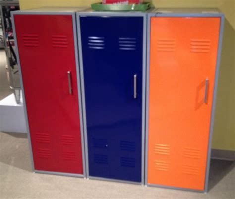 chic lockers for room colorful locker storage