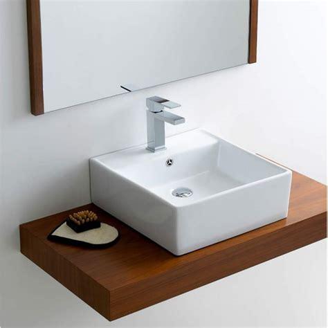 bathroom countertop depth phoenix full depth countertop washbasin vb008 uk bathrooms