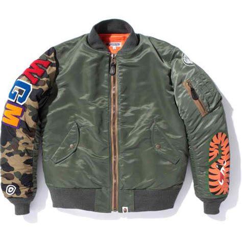 Jaket Bomber Bape Bomber Pria Bomber Swag Jaket Bomber Murah bape shark m1 a jacket 1 2 afropunk vintage and