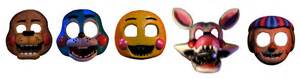 Fnaf 2 toy animatronic masks by dahooplerzman on deviantart