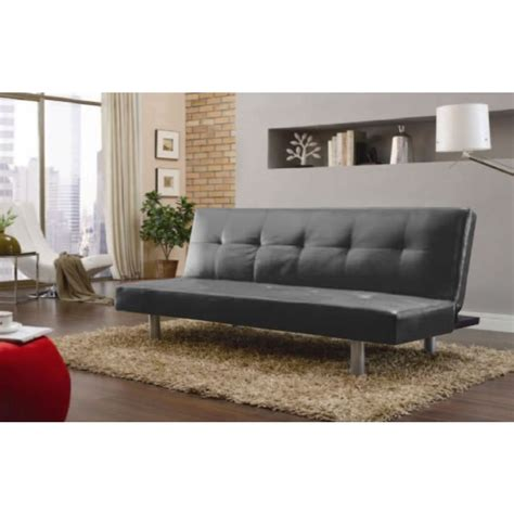 pu leather  seat sofa bed couch  black  red buy sofa beds