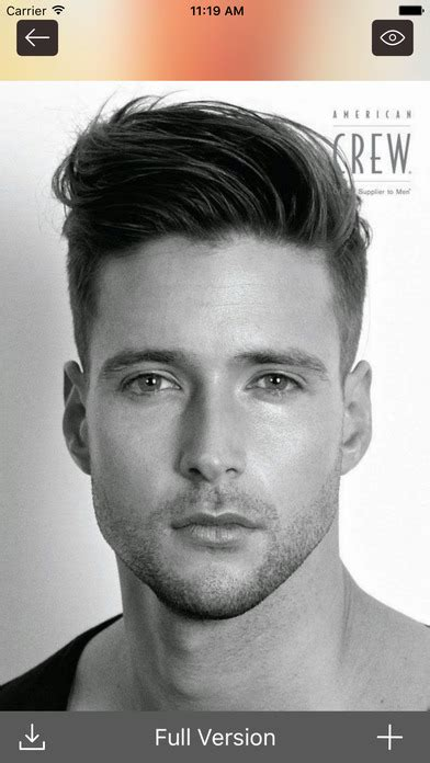 mens hairstyles app download hair styles and haircuts mens hairstyle makeover app