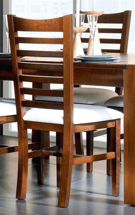 silla clasica respaldo madera pino en  muebles de