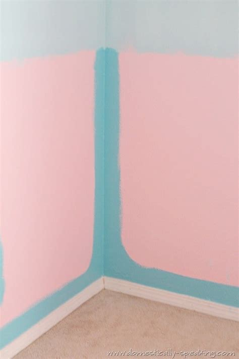 ombre walls tutorial ombre bedroom walls tutorial domestically speaking