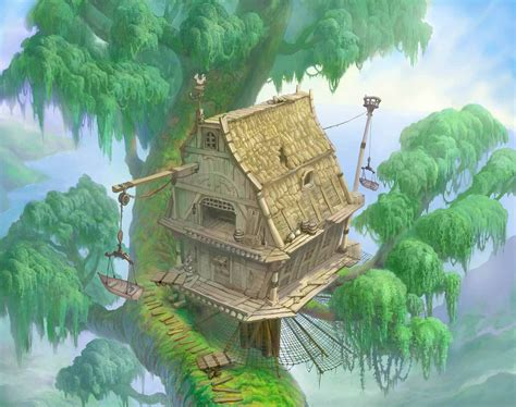 swinging the l datei baumhaus artwork kh png kingdom hearts wiki