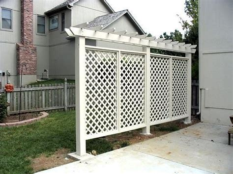 90cm Height Portable White Wooden Fence Back Drop 1 27 awesome diy outdoor privacy screen ideas with picture