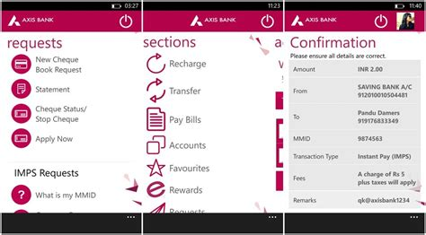 Credit Card Bill Sle India Axis Bank Customers In India Rejoice The Official Axis Mobile App Is Here Windows Central