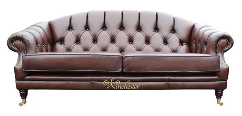 victoria leather sofa victoria 3 seater chesterfield leather sofa settee antique