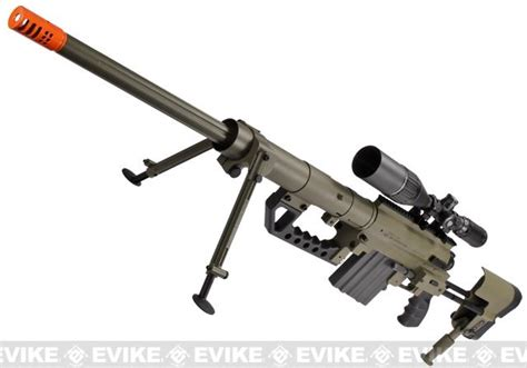 Airsoft Gun Cheytac Socom Gear Cheytac M200 Shell Ejecting 8mm Airsoft Gas Sniper Rifle Evike
