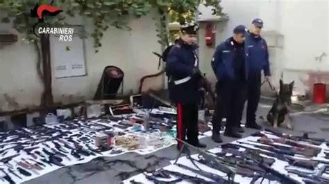 comprare pistola senza porto d armi militaria sequestro armi carabinieri ros udine