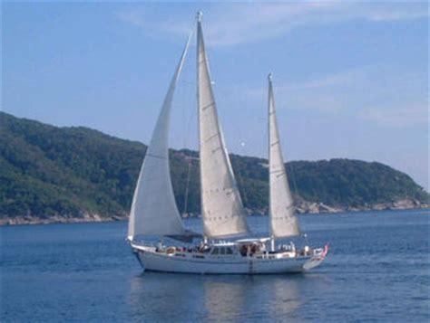 sailing boat ketch meta iv yacht charter details thailand crewed sail boat