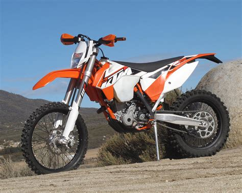 2015 ktm motocross 2015 ktm 350 xcf w test review impression dirt bike test