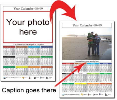 make personalised calendar free free photo calendars gift ideas