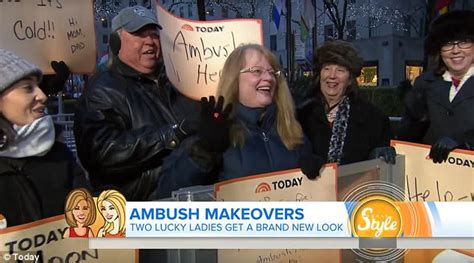 today show ambush makeover this week retired or nurse from texas undergoes birthday makeover