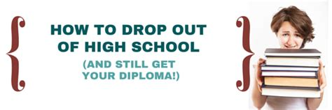 8 That Dropped Out Of Highschool by How To Drop Out Of High School And Still Get Your Diploma