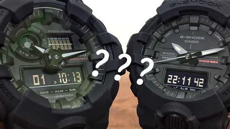 G Shock Time Grey Black big black series ga835 versus ga735 g shock