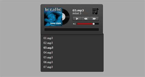 Audio Player by Html5 Audio Player With Playlist