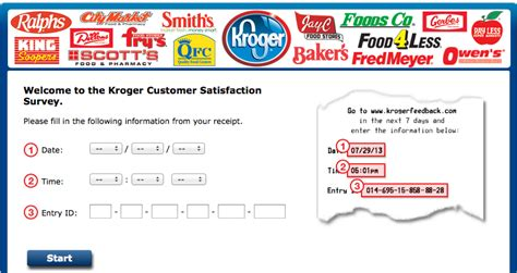 Www Krogerfeedback Com Monthly Sweepstakes - october 2013 top 10 surveys
