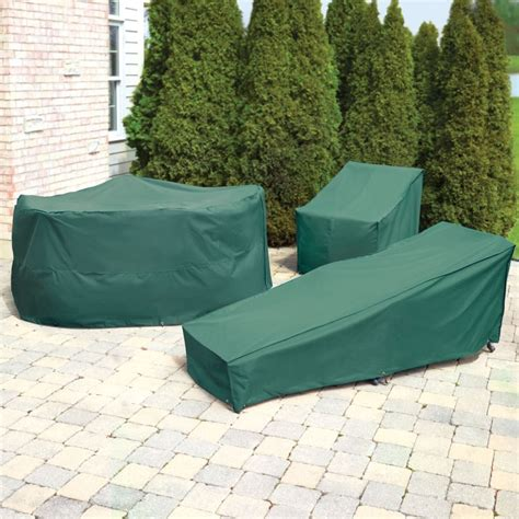 Patio Furniture Cover The Better Outdoor Furniture Covers Chaise Lounge Cover Hammacher Schlemmer