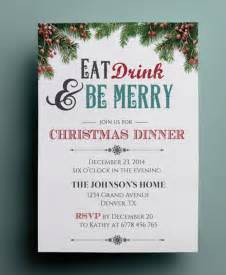free dinner invitation template dinner flyer or dinner invitation poster
