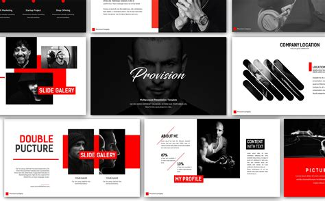 Creative Templates by Provision Creative Presentation Powerpoint Template 66047