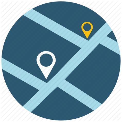 web design icon navigation address application map navigation navigator road