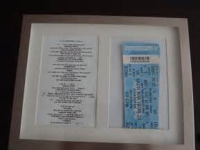 How To Wrap Tickets As A Gift - brilliant presentation of concert tickets holiday stuff pinterest concert tickets gift