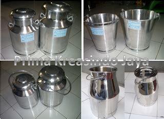 Haidar Milk Kambing Segar Dan Murah jual milkcan stainless harga milk can stainless murah