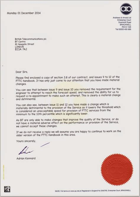 cancellation letter to bt bt adjusts support for uk fttc quot fibre broadband