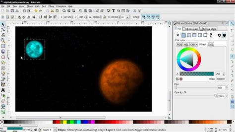 inkscape tutorial on youtube create stars and planets inkscape tutorial youtube