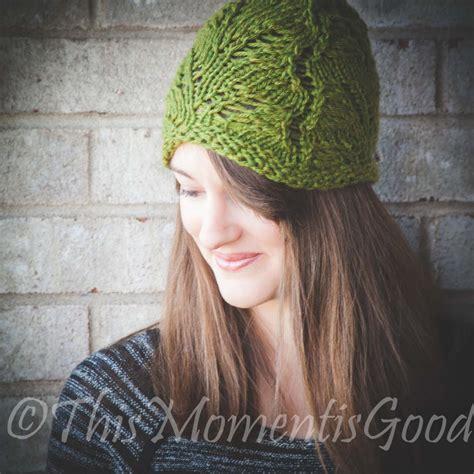 knitting pattern sites loom knit fern lace hat pattern lightweight hat pattern