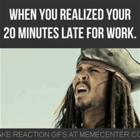 late for work by dancingeagle meme center