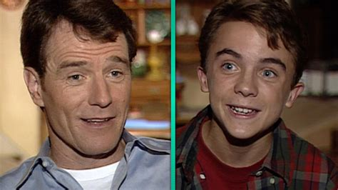 bryan cranston malcolm in the middle flashback malcolm in the middle turns 15 on set with